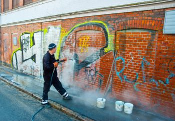 Graffiti Removal in Newell by Excel Pressure Washing