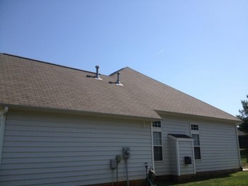 After Roof Cleaning by Excel Pressure Washing in Cornelious, NC