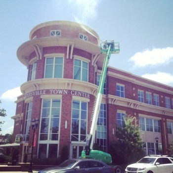 Commercial Pressure Washing in Huntersville, NC by Excel Pressure Washing
