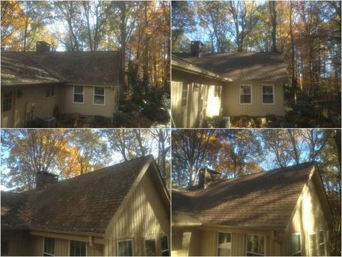 Roof Cleaning and Stain Removal Huntersville, NC
