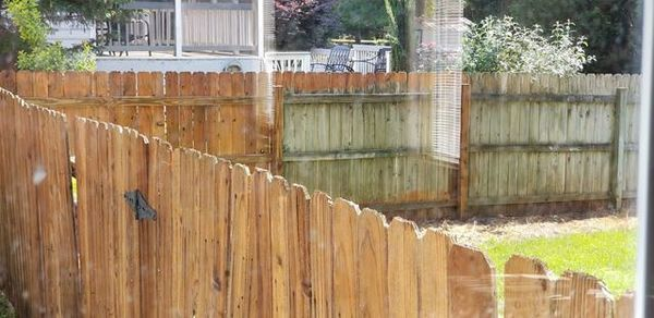 Pressure Washing Fence in Mooresville, NC (1)