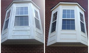 Soft Washing Windows in Huntersville, NC (1)