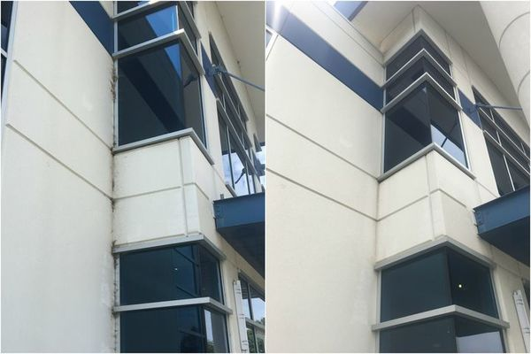 Before & After Commercial Pressure Washing in Charlotte, NC (1)