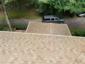 Before & After Roof Washing/Roof Cleaning in Mooresville, NC (2)