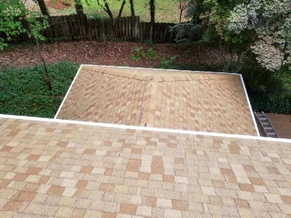 Before & After Roof Washing/Roof Cleaning in Mooresville, NC (3)