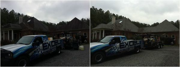 Roof Cleaning in York, NC (1)